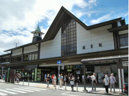 JR横須賀線『鎌倉』駅まで徒歩約9分
