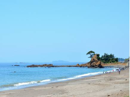 立石公園や江ノ島を望めます