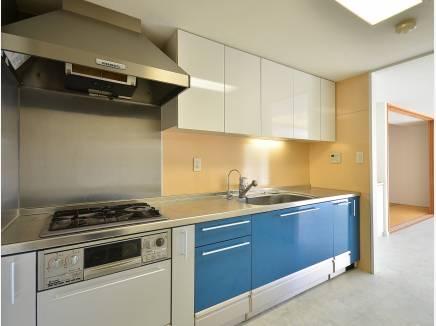 独立したキッチンは落ち着いてお料理が出来そうですね。