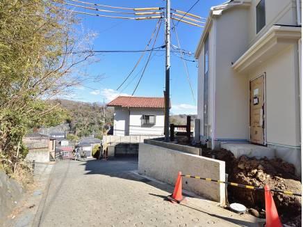 鎌倉の山々を近くに感じられる住環境