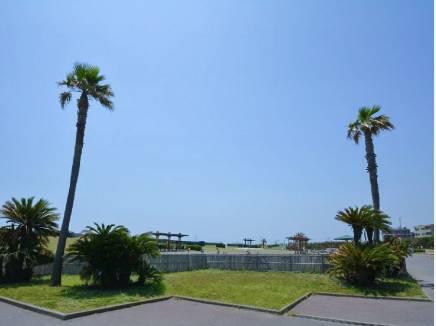 海と隣接する湘南海岸公園まで徒歩2分(約100m)