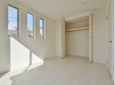 全居室2面採光の明るい住空間
