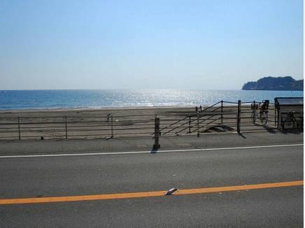 歩いて海まで行ける生活 材木座海岸まで徒歩3分
