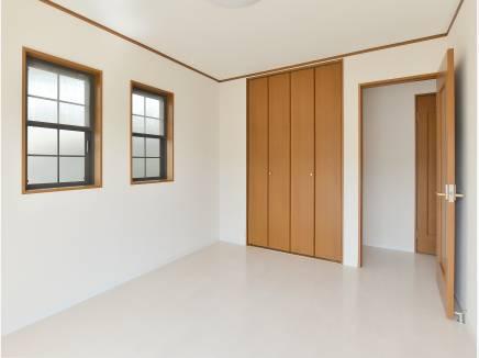 全居室2面採光で明るい空間となっています