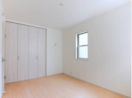 6帖の納戸は居室として充分に使えそうですね