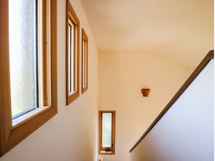 ロフトは勾配天井となっており、開放感たっぷりです