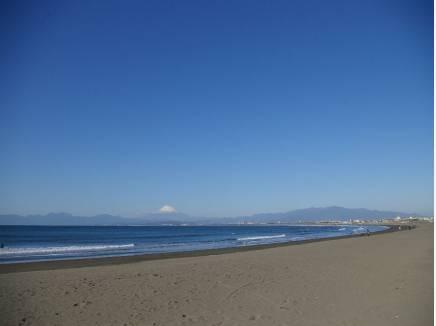 海まで徒歩7分(約500m)