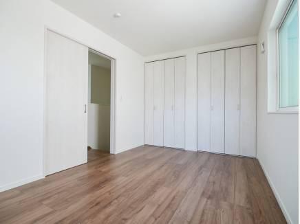 各居室 収納もたっぷりあります