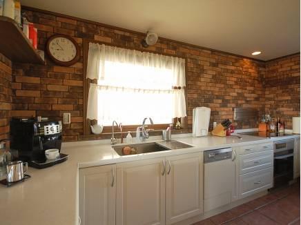 L字型のキッチンは広くて料理がはかどりそう