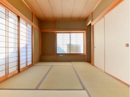 和室は客間としても使えるくつろぎのスペース
