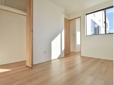 各居室から空を眺めることができる快適な住空間