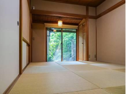 い草の薫る和室はのんびりとした時間を過ごせそう