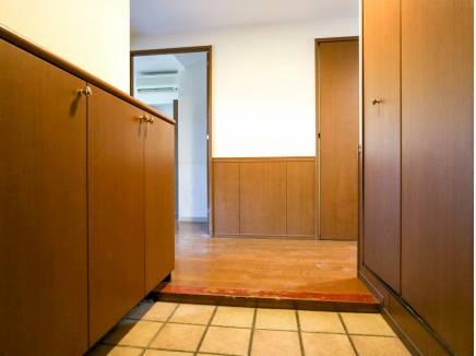 玄関も全てのお部屋もバリアフリーとなっています。
