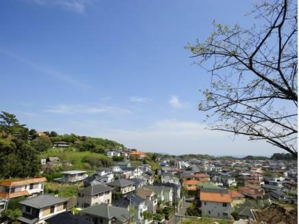 鎌倉山周辺からの撮影写真です。