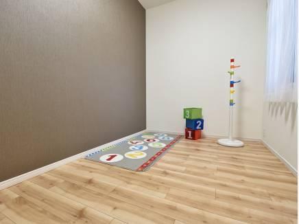 子供部屋にもぴったりな洋室