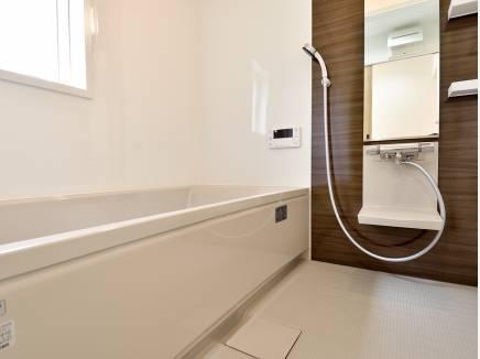 バスルームは癒しの空間になるでしょう