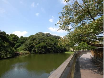 朝のお散歩に…夫婦池公園まで徒歩15分(約1200m)