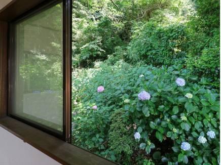 自然に包まれた静かな住環境