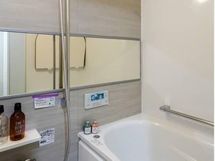心地良いバスルームは癒しの空間