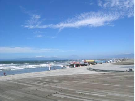 海岸まで約700m お散歩が楽しくなりそうな風景