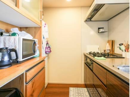 収納スペースを豊富に完備したキッチンです。