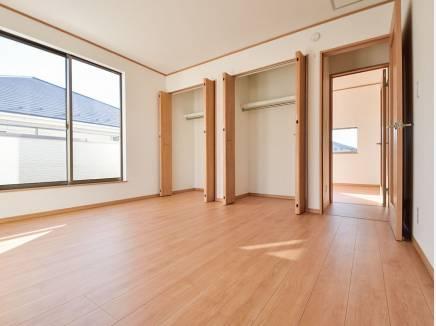 全室2面採光のとても明るい住空間