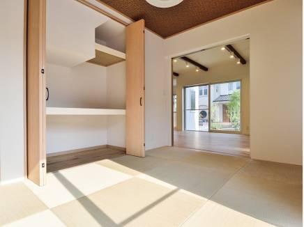 琉球風畳がお洒落な雰囲気となっています