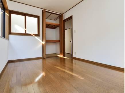居室の収納はたっぷりサイズです
