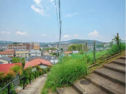 坂道の上には素晴らしい眺望がありました