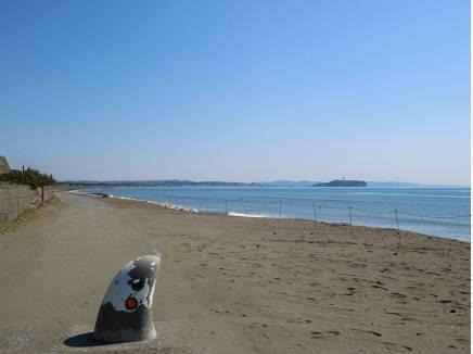 この景色を毎日見られる住環境(砂浜まで徒歩2分  約140m)