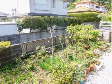 ガーデニングや家庭菜園を出来そうなお庭