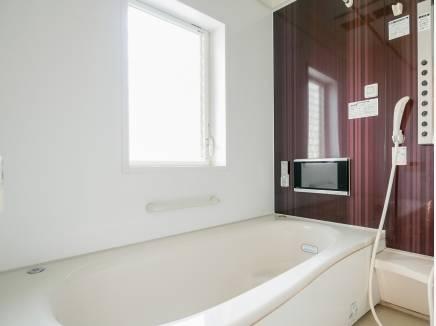 TV付のバスルームで贅沢にくつろいでくださいね