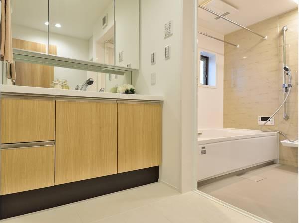 洗面室・バスルームはゆとりの広さ