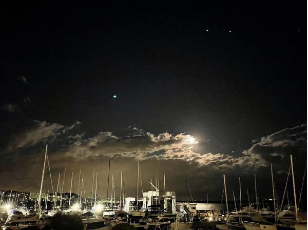 夜の景色も素敵ですね