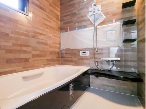 バスルームも柔らかい雰囲気です
