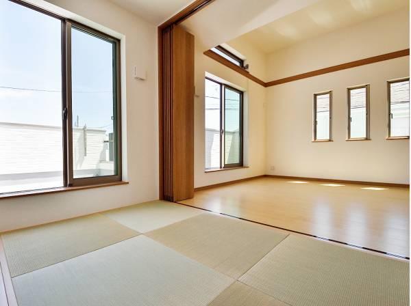陽だまりが心地良い和室