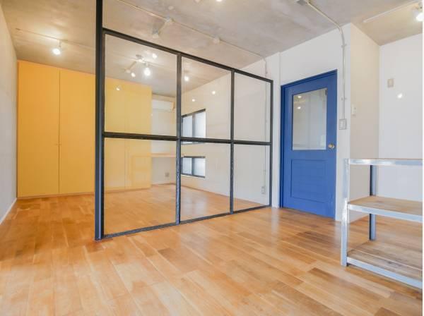 壁やドアが少ないスケルトンな間取りが素敵