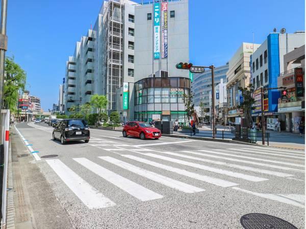 商業施設の多い藤沢駅まで徒歩10分
