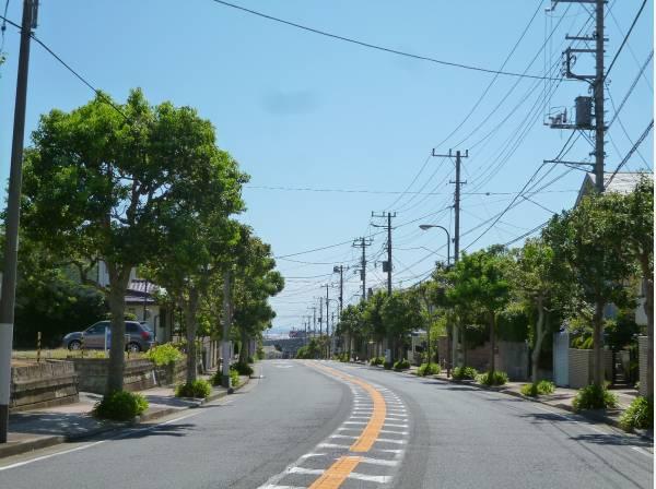 区画整理のされた綺麗な西鎌倉分譲地の一画です