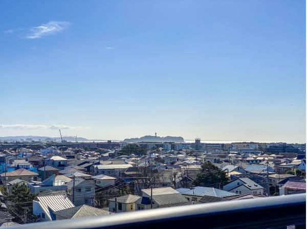 江ノ島ビューも湘南ならではですね