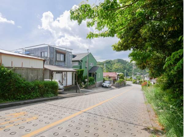 神奈川県三浦郡葉山町上山口の土地