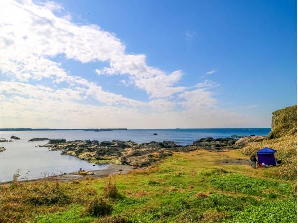 休みの日は諸磯湾でBBQなんていかがでしょう(徒歩12分 約900m)