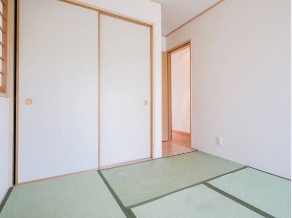 あると嬉しい和室は落ち着く空間です。