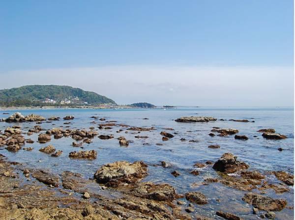 海まで徒歩17分(約1300m)