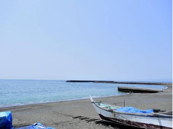 海まで徒歩10分(約800m)