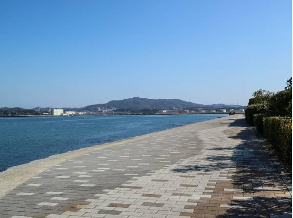 毎日海沿いのお散歩が叶う住環境