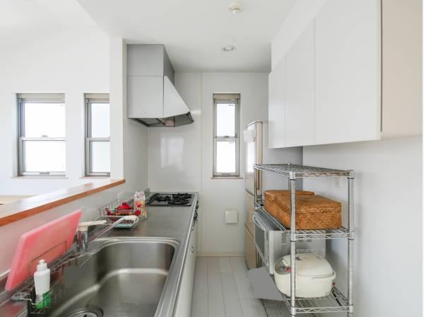 キッチン収納がとても豊富です