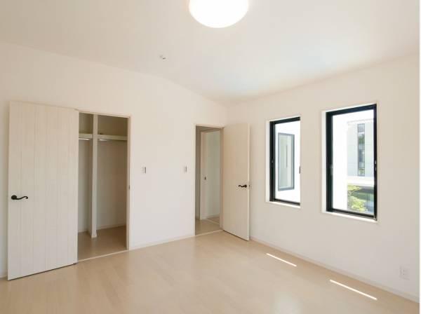 2階の居室はゆとりの広さを確保