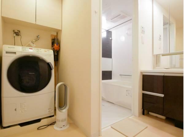 洗面室もゆとりがあるので忙しい朝も安心です