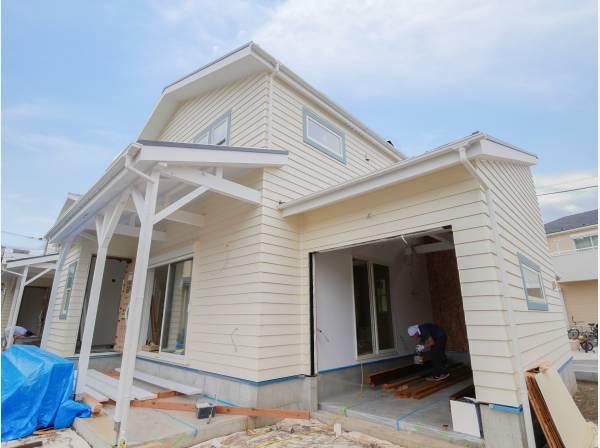 神奈川県茅ヶ崎市柳島海岸の新築戸建